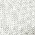 Malha de embalagem Piquet Branca